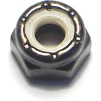 Qty 50 Steel w Black Oxide #2-56 NM Nylon Insert Hex Lock//Stop Nuts SAE