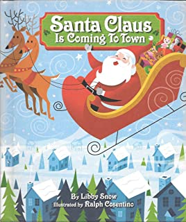 Santa Claus Is Coming to Town Recordable Storybook