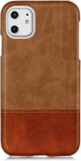 Leather Cover Compatible with iPhone 11 Pro, brown Wallet Case for iPhone 11 Pro