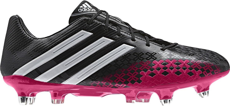 Adidas Prougeator LZ XTRX SG - Chaussures de Foot Noir Blanc Rouge Baies