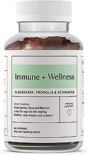 Objective - Immune + Wellness - Vitamin C, Elderberry, Propolis and Echinacea - 60 Gummies