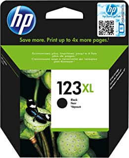 HP 123XL Black Original Ink Advantage Cartridge - F6V19AE