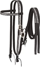 Tough 1 Nylon Browband Headstalls and Reins with Printed Overlay