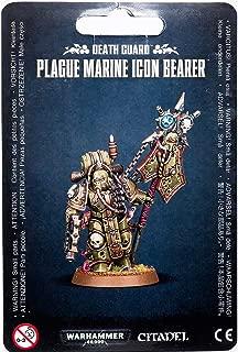 Games Workshop Warhammer 40k Death Guard Plague Marine Icon Bearer