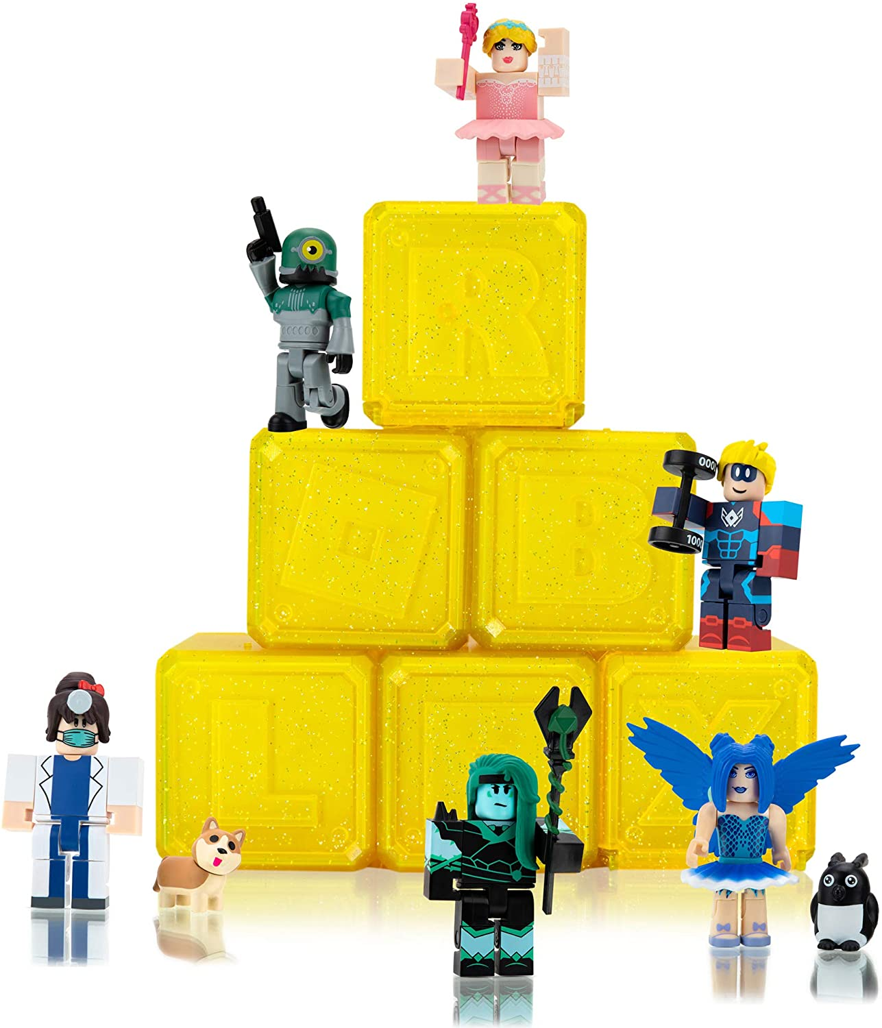 Roblox Celebrity Collection - Series 7 Mystery Figure 6-Pack [Includes 6...