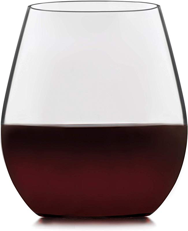 Libbey Signature Kentfield Stemless Red Wine Glasses Set Of 4