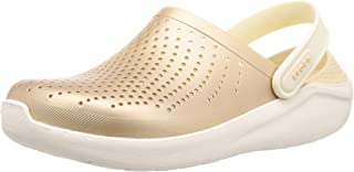 Crocs 卡骆驰 凉鞋 LiterRide 金属洞洞鞋