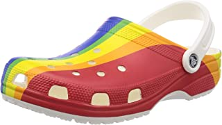 Crocs Unisex-Adult Classic Graphic Clog | Water Slip on Shoes