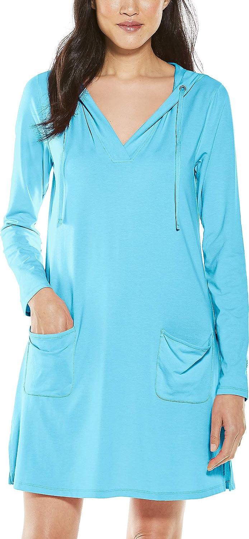 Coolibar UPF 50+ Women's Catalina Beach Dress - Pro Long Beach Mall Cover-Up Bargain sale Sun