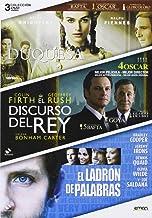 Pack: La Duquesa + El Discurso Del Rey + El Ladrón De Palabras (Import Movie) (European Format - Zone 2)