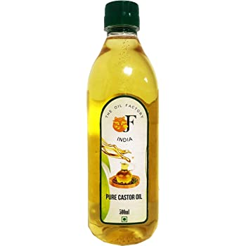 The Oil Factory Cold Pressed 100% Pure Castor Oil - 500 Ml