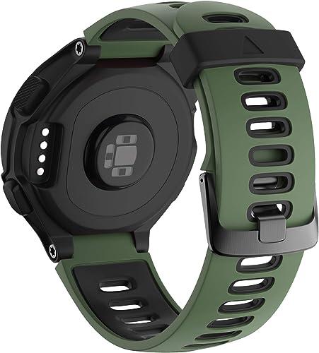 NotoCity Bracelet 735xt Forerunner Montre Fitness Tracker Silicone Souple Bracelet de Replacement Sport Compatible Fo...