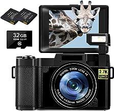 Sponsored Ad – Digital Camera Vlogging Camera 30MP Full HD 2.7K Compact Camera With Retractable Flash Light Camera 3 Inch ...
