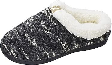 Slippers for Women Men Cozy Memory Foam Wool-Like Plush Fleece House Shoes Furry Indoor Outdoor