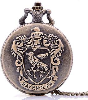 Antique Mens Harry Potter Pocket Watch,Cartoon Pocket Watch, Movie Pocket Watches for Kids, Christmas Birthday Gifts for Boys Girls