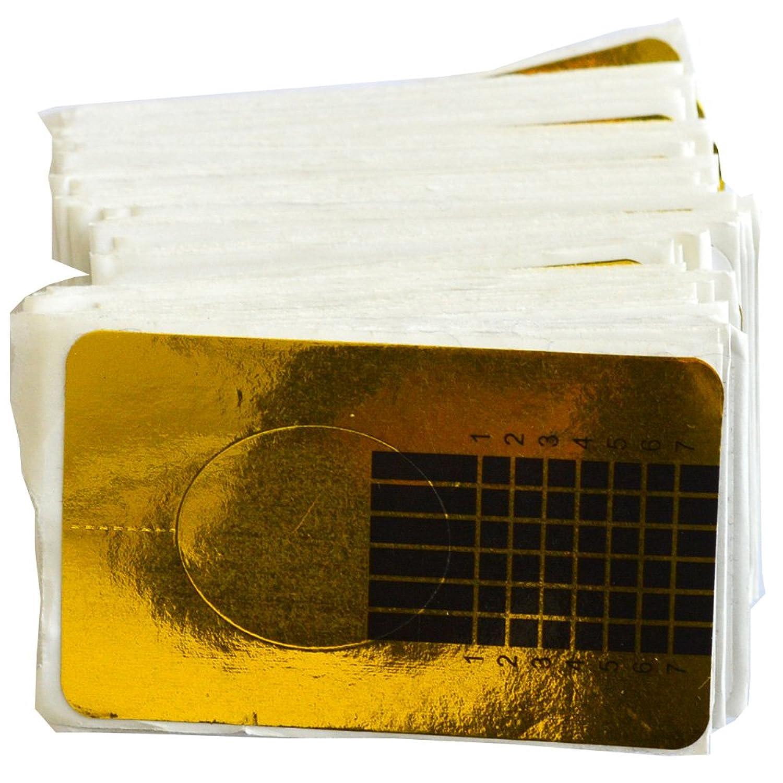 抜け目がない請負業者ナラーバー100ピース/セット新しいファッションネイルフォームアートのヒントエクステンションフォームガイドフレンチdiyツールアクリルuvジェルネイルツールSANJ070