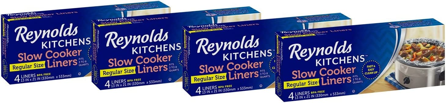 Reynolds Kitchens Slow Cooker Liners Regular 3 6 Count Limited time cheap sale Size trust -