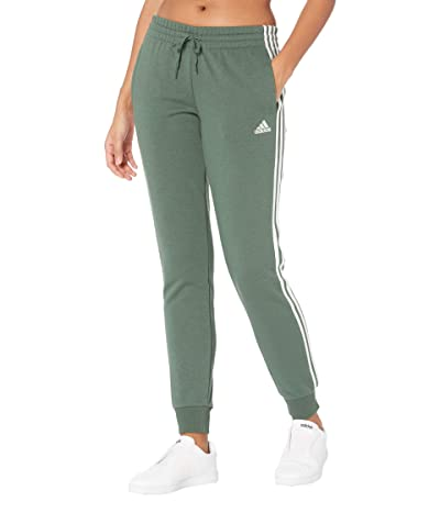 adidas 3-Stripes French Terry Cropped Pants Women