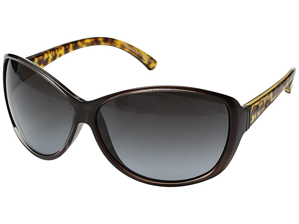 VonZipper Vacay (Copper Chrome Tortoise/Grey Gradient) Sport Sunglasses