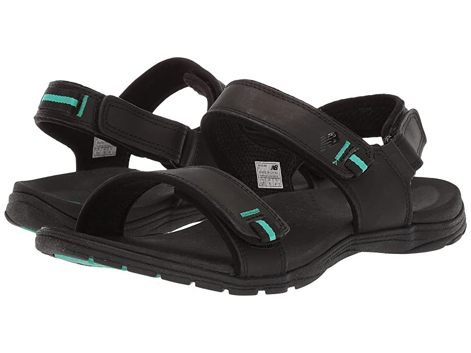 New Balance Traverse Leather Sandal (Black) Women