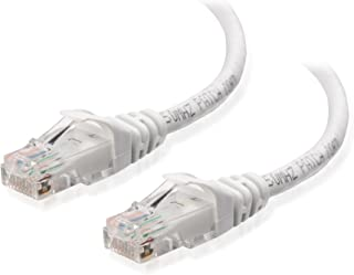 Cable Matters Snagless Long Cat6 Ethernet Cable (Cat6 Cable, Cat 6 Cable) in White 50 ft