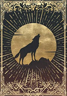 Wolf of the Blood Moon Campaign Notebook: RPG Journal Mixed Paper Ruled, Graph, Hex (RPG Notebooks)