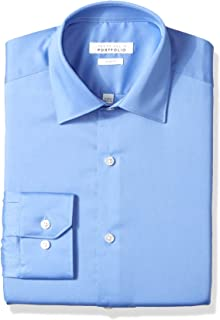 Perry Ellis Men's Slim Fit Wrinkle Free Dress Shirt