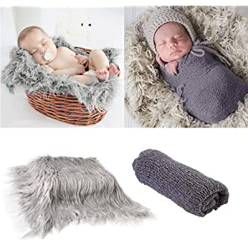 Newborn Photography Props Baby Costume Photo Soft Blanket Wraps Velvet Nap Quilt