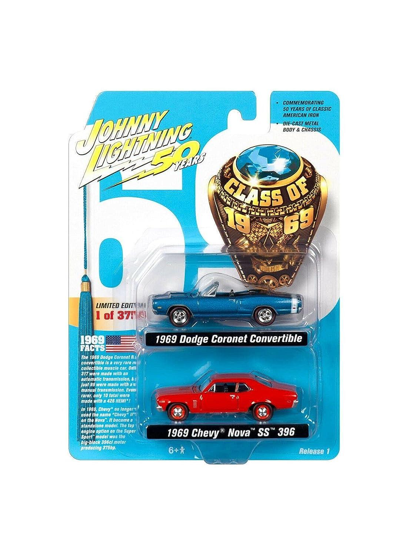 2019 Johny Lightning 2-Pack Class Ddodge Coronet 1969 Milwaukee Mall of Chevr online shop