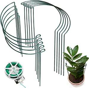 Garden Plant Support Stakes 10 Pack(10