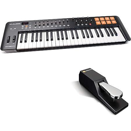 M-Audio Oxygen 49 IV + SP-2 - Teclado controlador MIDI USB de ...