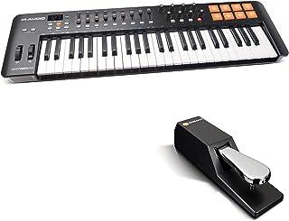 MIDI Controller Bundle | 49 Key USB MIDI Keyboard Controller