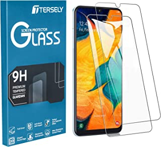 TERSELY Screen Protector for Samsung Galaxy A70/A70S, [2 Pack] Tempered Glass Case-Friendly Anti Scratch Screen Protector ...