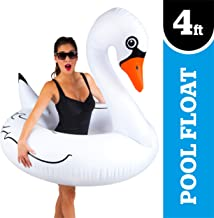 Big Mouth Inc. Giant White Swan Pool Float
