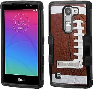 LG Escape 2 case - [Football]( Black / Black)UNIQUITI(TM) cell phone armor cover [TuMax] dual layer hybrid hard skin guard ultra protective shell (for LG Escape 2 H443 H445 )