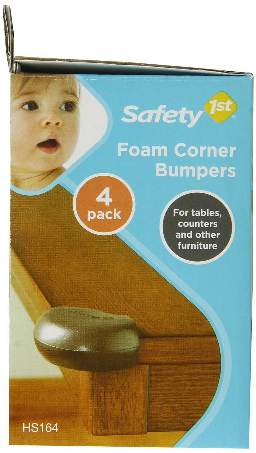 Safety 1st Corner Bumpers Brown Carded 4 / Pack
