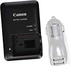 CB-2LC Battery charger for Canon NB-10L Battery and Canon PowerShot G1 X, G15, G16, SX40 HS, SX50 HS