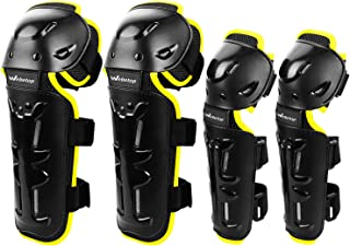 Webetop Elbow and Knee Pads Adult Dirt Bike Shin Guards...