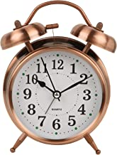 Efinito Twin Bell Alarm Clock with Night Led Display - 5 Inches