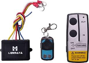 LIEBMAYA Wireless Winch Remote Control Kit for Truck Jeep ATV SUV 12V Switch Handset