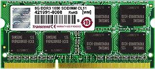 Transcend 8GB DDR3 SDRAM Memory Module TS1GSK64V6H