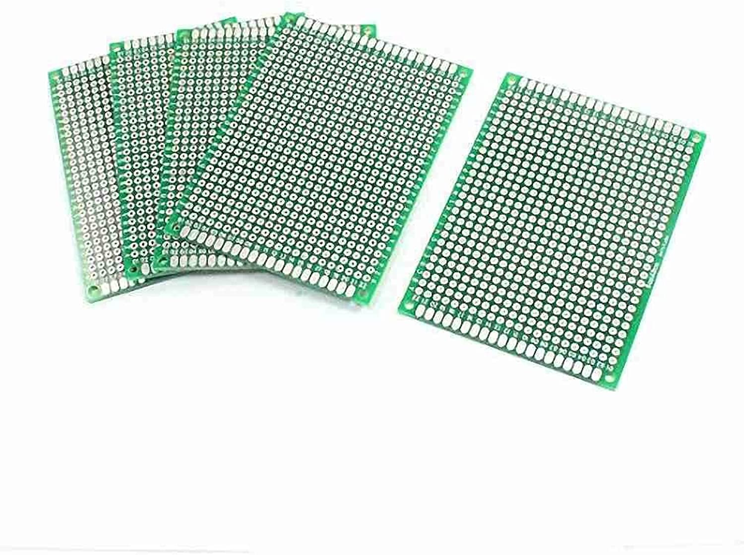 Magentoo(TM) 5Pcs Double Sided Predotyping PCB Printed Circuit Board 6cm x 8cm