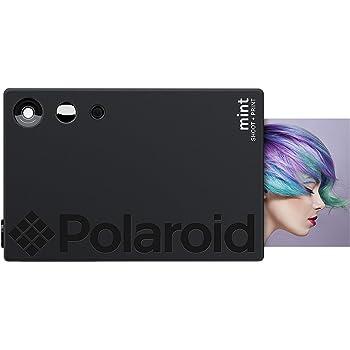 Zink Polaroid Mint Instant Print Digital Camera (Black), Prints on Zink 2x3 Sticky-Backed Photo Paper
