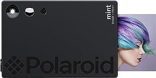 Polaroid mint digitalkamera med direkttryck (svart), tryck på zink 2 x 3 fotopapper med fast baksida