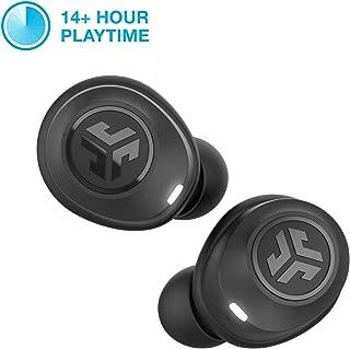 JLab Audio JBuds Air True Wireless Signature Bluetooth Earbuds, Charging Case, Black, IP55 Sweat Resistance, Bluetooth 5.0 Connection (Renewed)