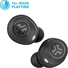 JLab Audio JBuds Air True Wireless Signature Bluetooth Earbuds, Charging Case, Black, IP55 Sweat Resistance, Bluetooth 5.0 Connection (Renewed)