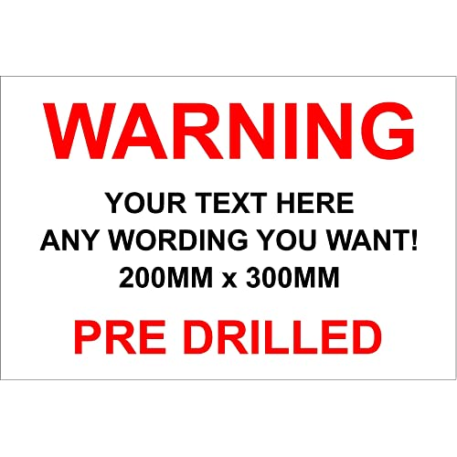 ae1bc0b84 Make your own sign - Warning, Notice, Danger, Security, funny sign -