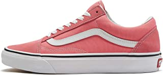 Mens Old Skool Strawberry Pink True White Size 8.5