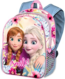 Karactermania Frozen Smile-zaino Basic Mochila Infantil 40 Centimeters 18.2 Multicolor (Multicolour)