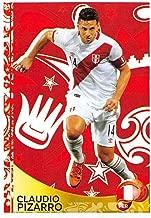 2016 Panini Copa America Centenario Soccer Sticker #426 Claudio Pizarro Peru 2 Inch wide X 3 inch tall album sticker